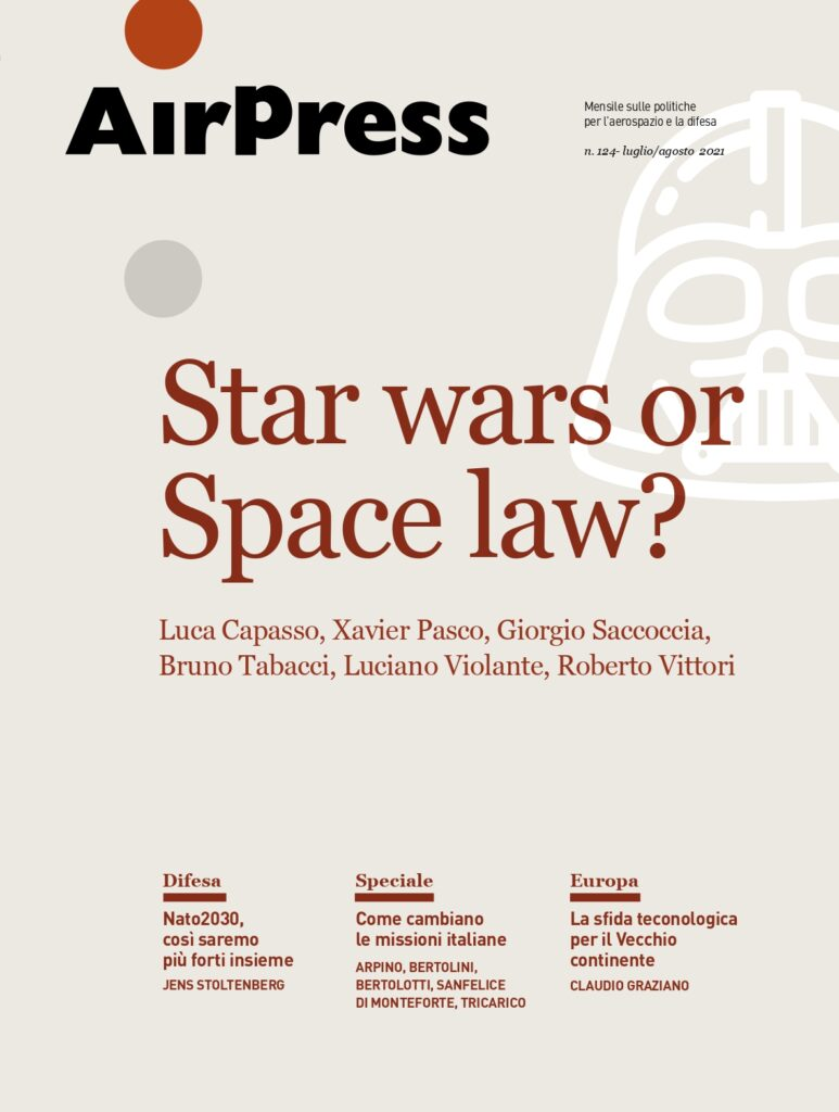 Star wars or Space law?